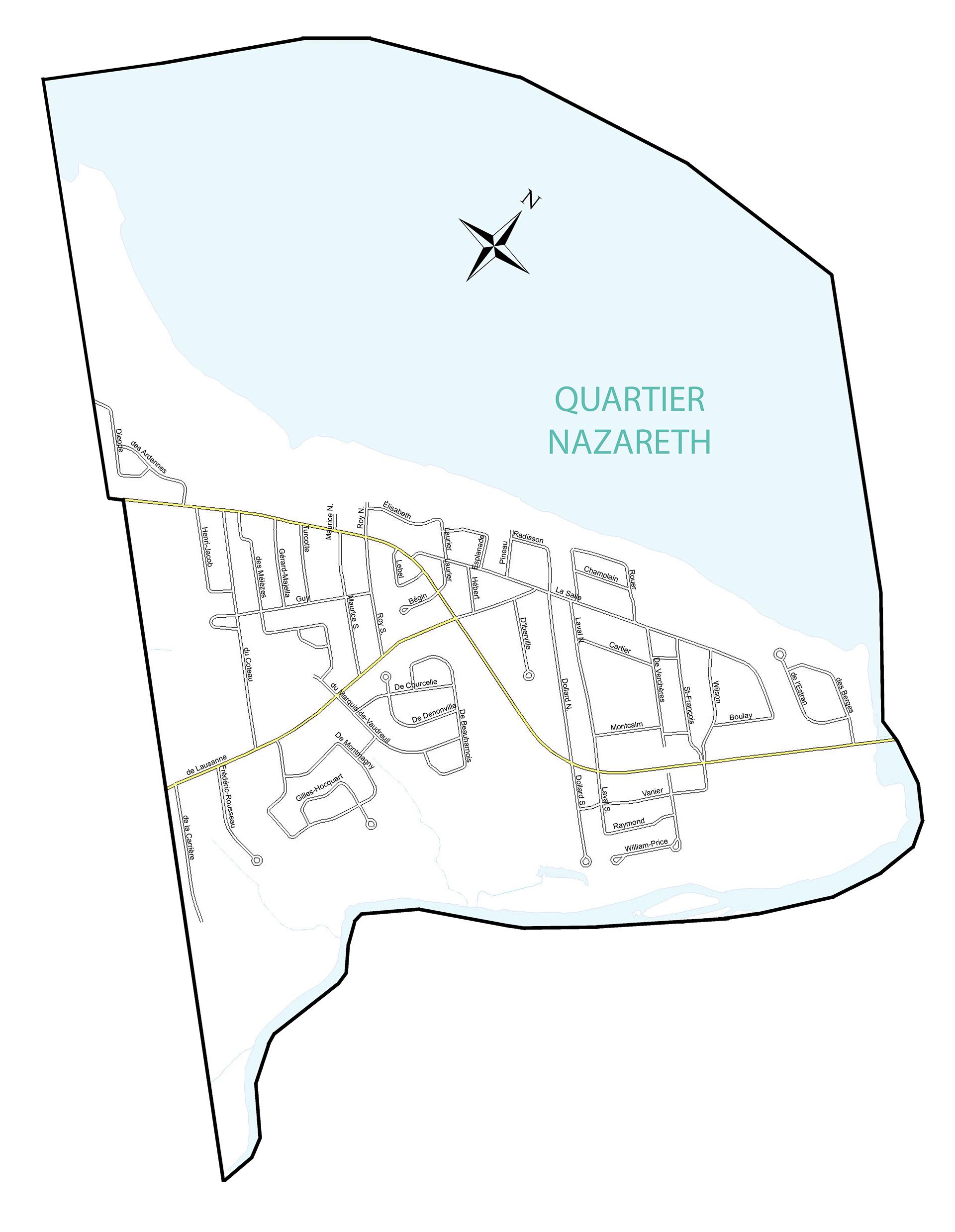 Nazareth ou paroisse L'Annonciation-de-la-Bienheureuse-Vierge-Marie-de-Nazareth