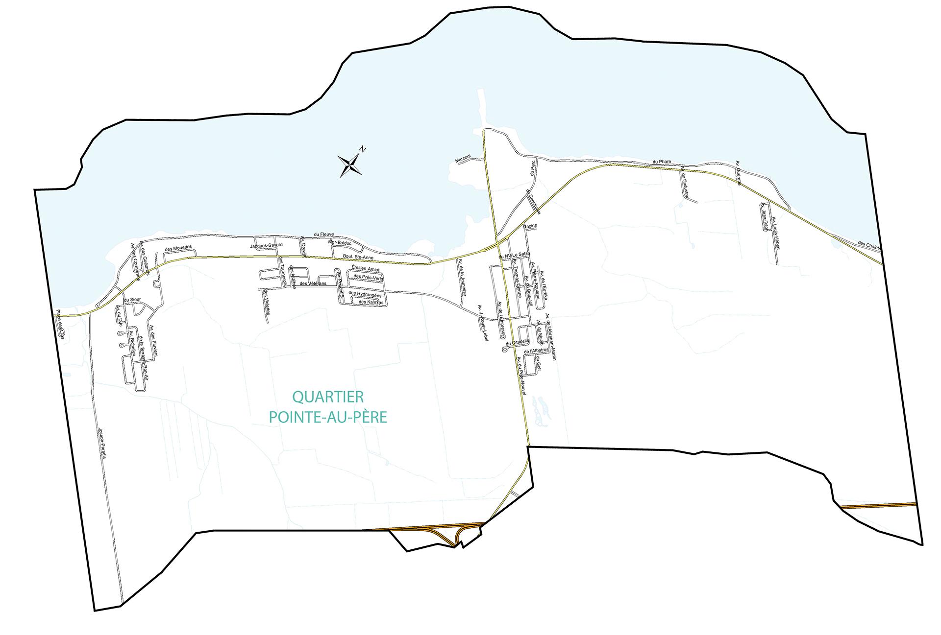 Pointe-au-Père ou paroisse Sainte-Anne-de-la-Pointe-au-Père
